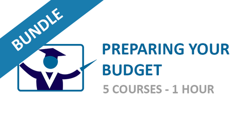 Preparing Your Budget: Courses Bundle