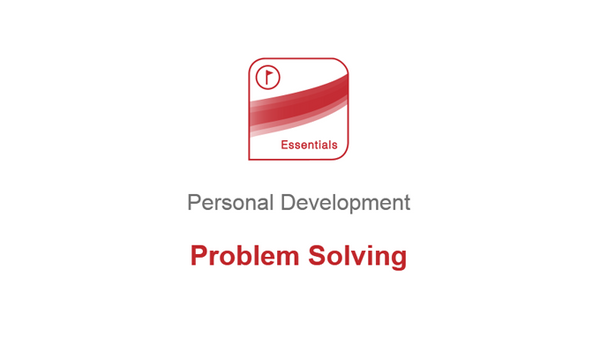 Personal Development: Problem Solving
