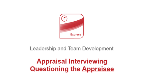 Appraisal Interviewing: Questioning the Appraisee