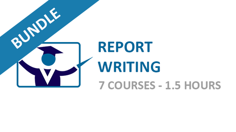Report Writing: Courses Bundle