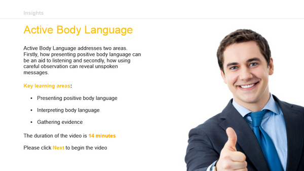 Active Body Language