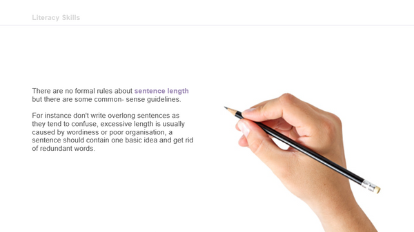 Best Practice for Effective Business Writing: Sentence Length