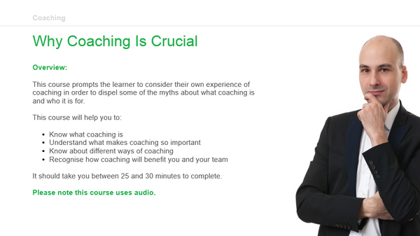 Coaching: Why Coaching Is Crucial