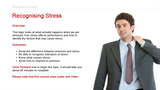 Managing Yourself: Recognising Stress