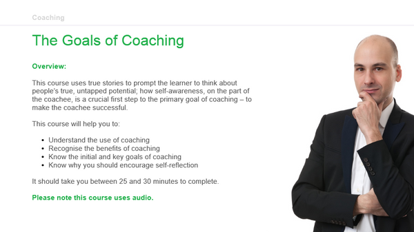 Coaching: The Goals of Coaching