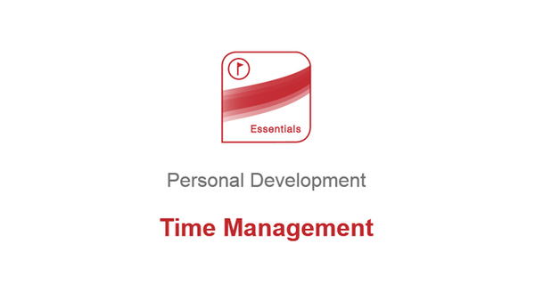 Personal Development: Time Management