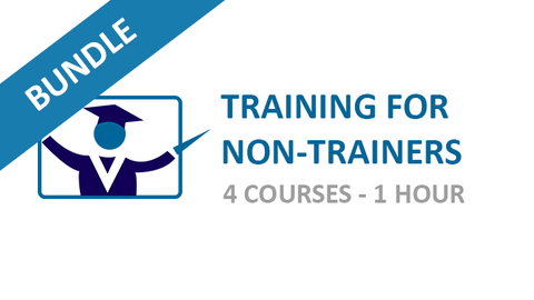 Training for Non Trainers: Courses Bundle