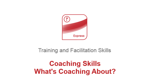 Coaching Skills: What's Coaching About