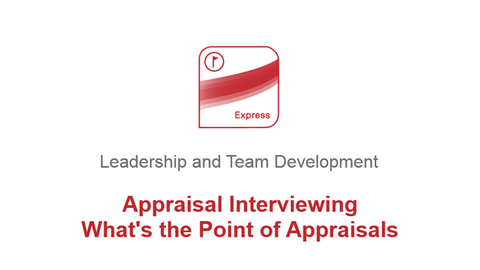 Appraisal Interviewing: Whats the Point of Appraisals