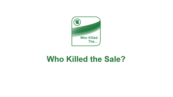 The Bottom Line: Who Killed The Sale