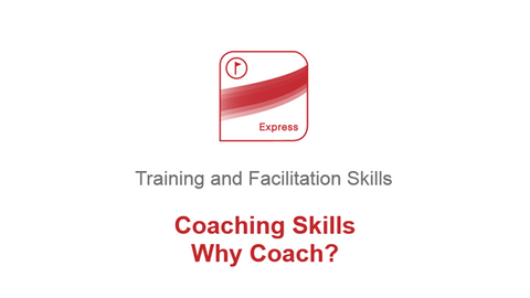 Coaching Skills: Why Coach