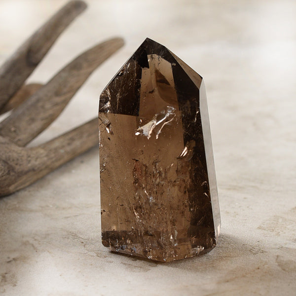 Smokey Quartz 'tower'