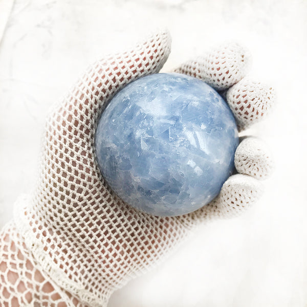 Celestite sphere