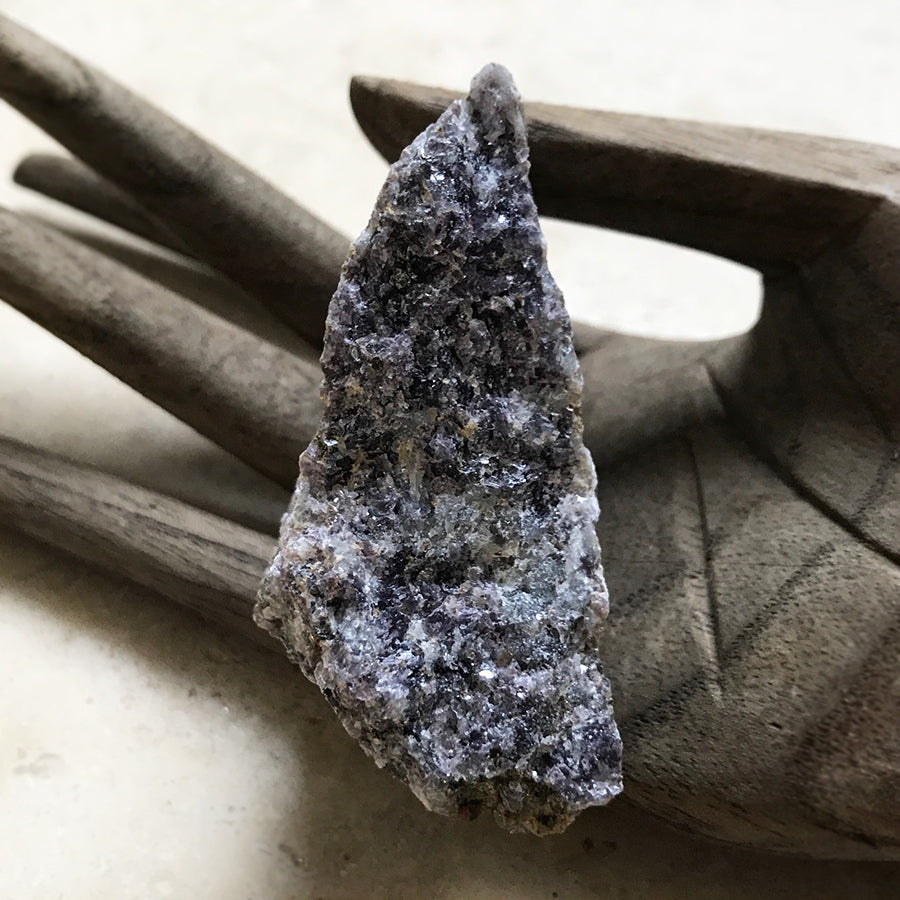 Raw Lepidolite from Finland