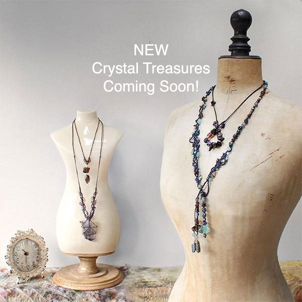 New crystal healing amulets coming soon!