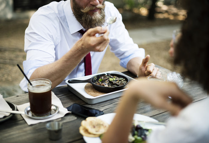 Top 5 tips on eating with a beard
