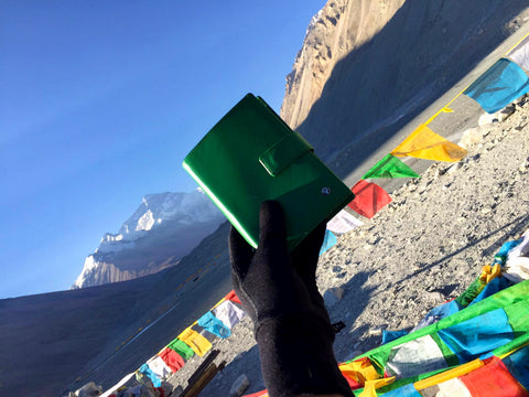 Green Passport Holder Everest