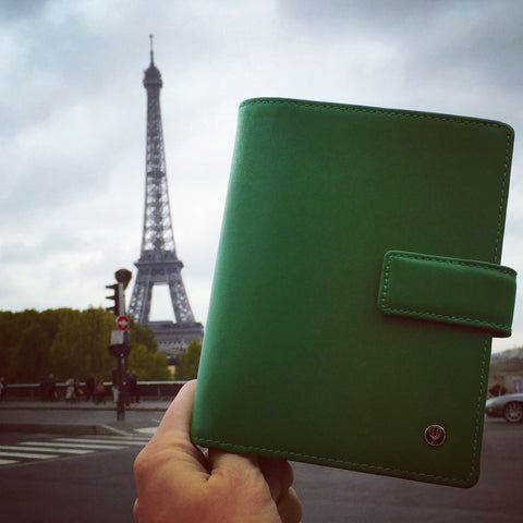 Green Passport Holder Paris