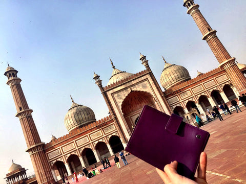 Purple Passport Holder Delhi