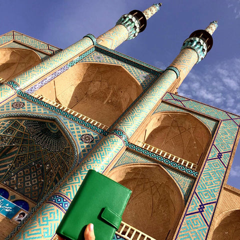 Up & Away passport holder Iran