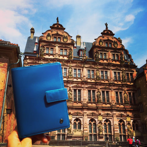 Up & Away passport holder in Heidelberg Germany