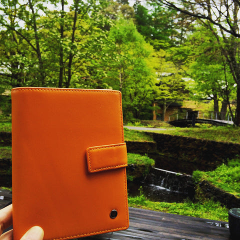 Up & Away passport holder Nagano Japan
