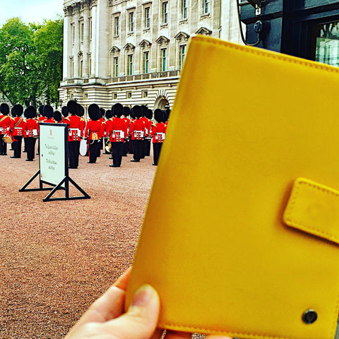 Yellow Passport Holder London