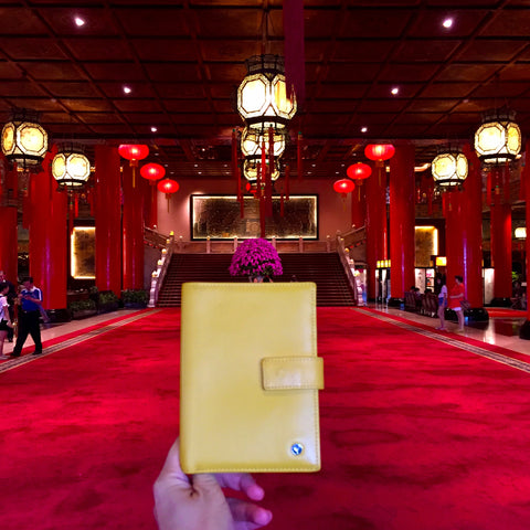 Yellow Passport Holder Taipei The Grand Hotel
