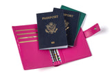 THE ORIGINAL 1-2-3 MULTIPLE PASSPORT HOLDER