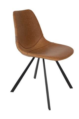Franky Chair Dutchbone cognac