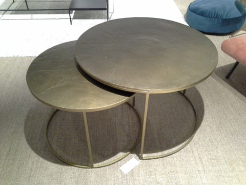 Coffee table bronze/black