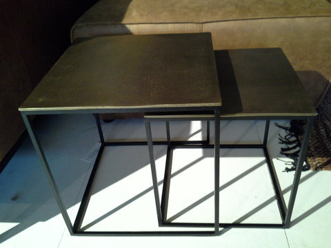 Side table Top Brass