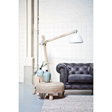 Floorlamp Wood XL