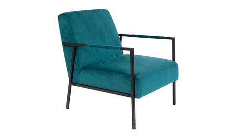 Lounge Chair Wakasan Teal