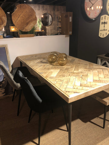 Eettafel 180x90 naturel