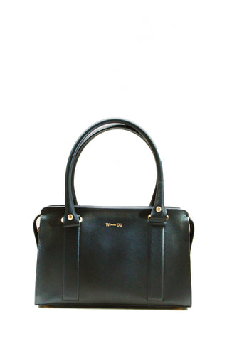 Austen Structured Bag Black