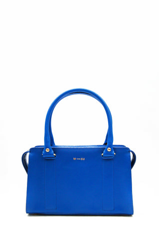 Austen Structured Bag Blue