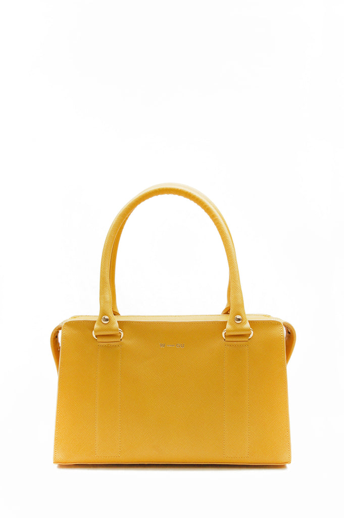 Austen Structured Bag Yellow