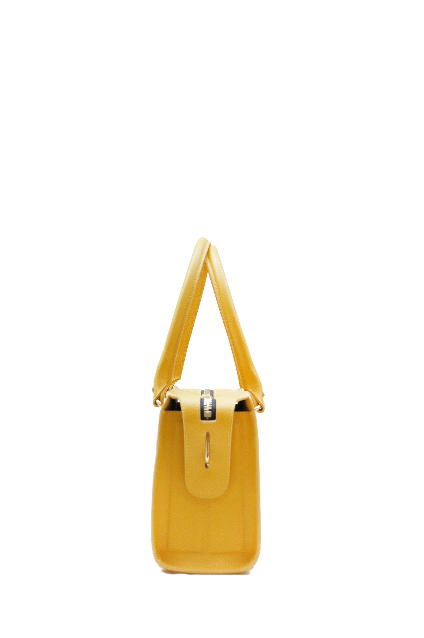 Wendee Ou: Austen structured bag yellow | Bags > Totes,Bags -  Hiphunters Shop