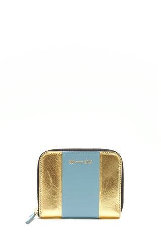 Britten Unisex Wallet Gold & Blue