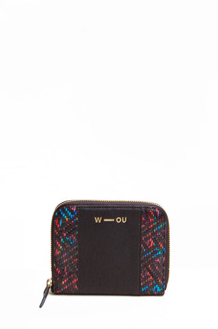Britten Unisex Wallet Black Rainbow