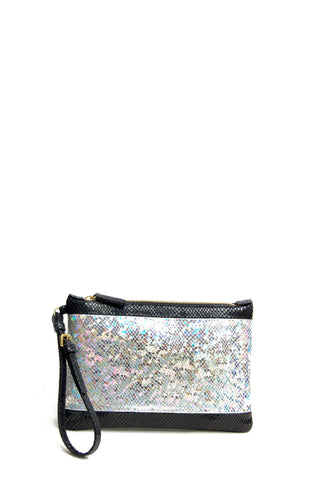Florence Clutch Bag Black Stardust