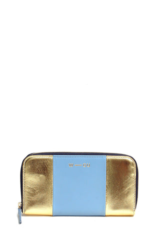 Georgie Purse Gold & Blue