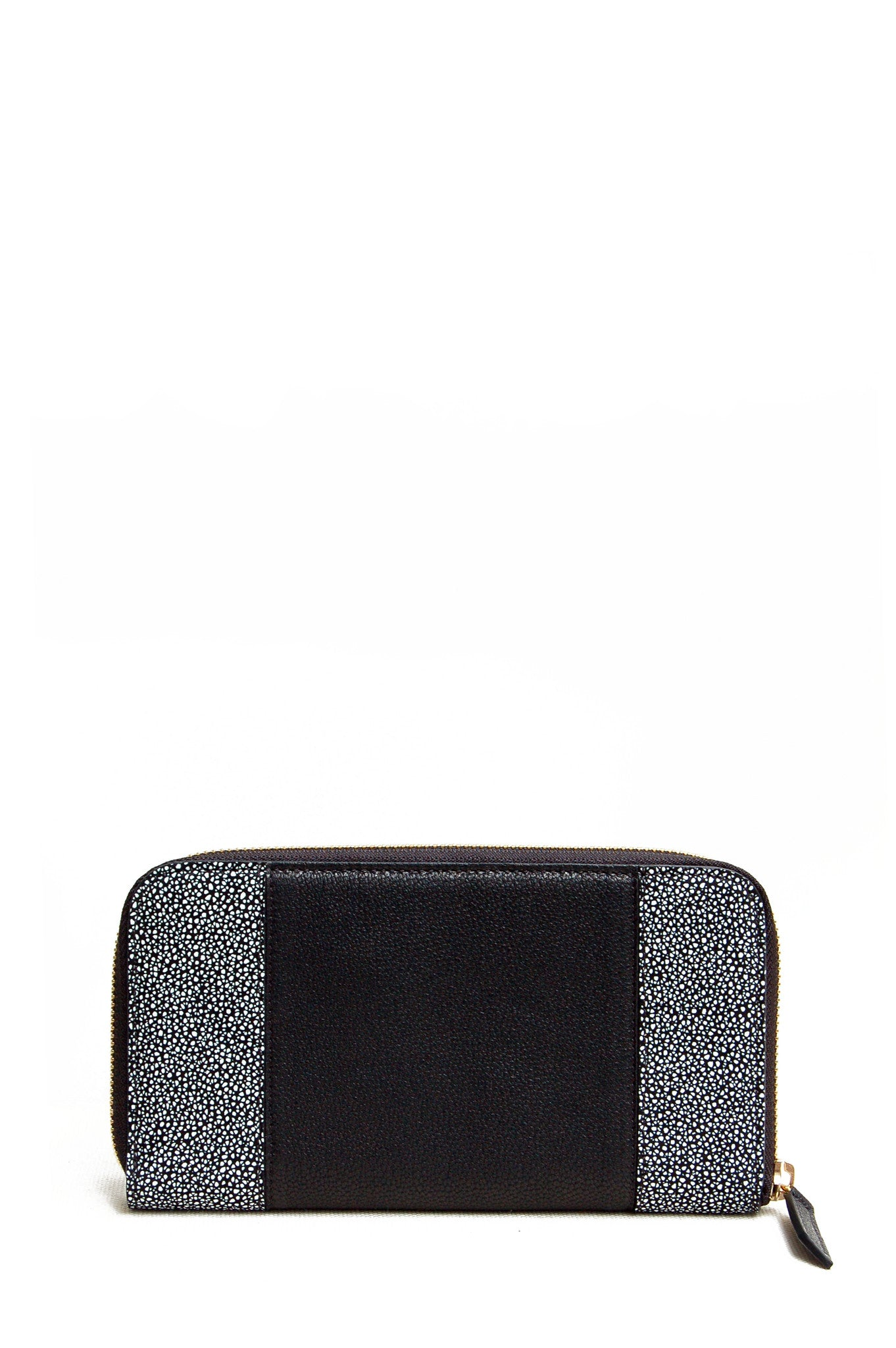 Wendee Ou: Georgie purse black & grey   Accessories > Wallets,Accessories -  Hiphunters Shop