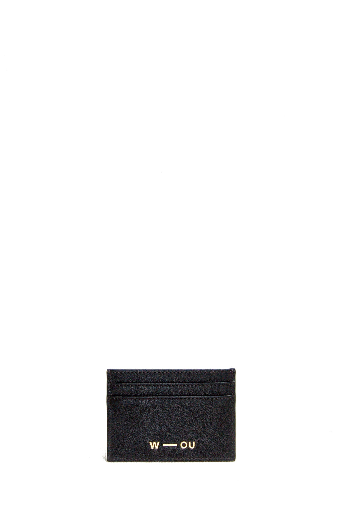 Wendee Ou: Gia cardholder black & bronze   Accessories > Wallets,Accessories -  Hiphunters Shop