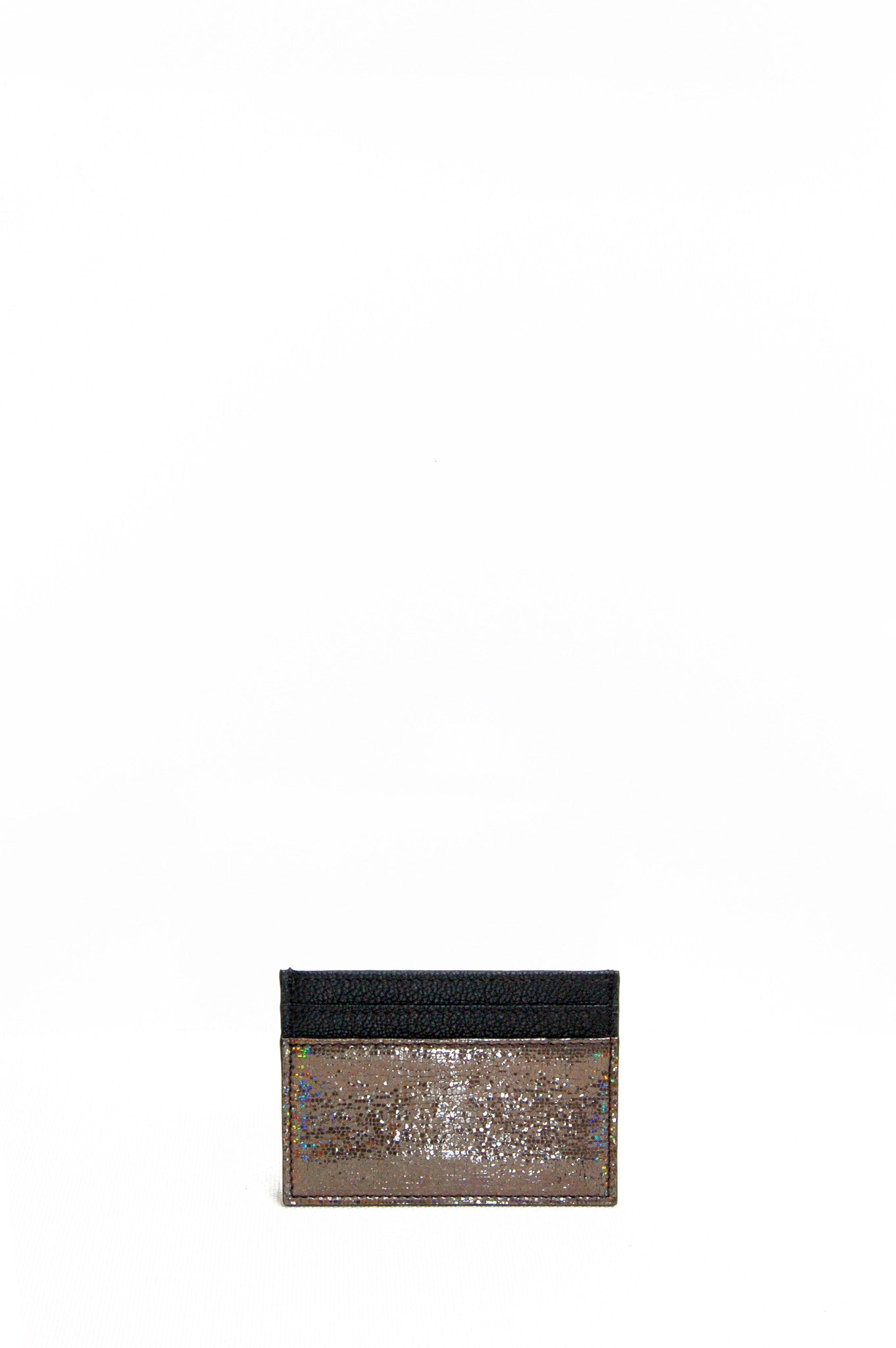 Wendee Ou: Gia cardholder black & bronze | Accessories > Wallets,Accessories -  Hiphunters Shop