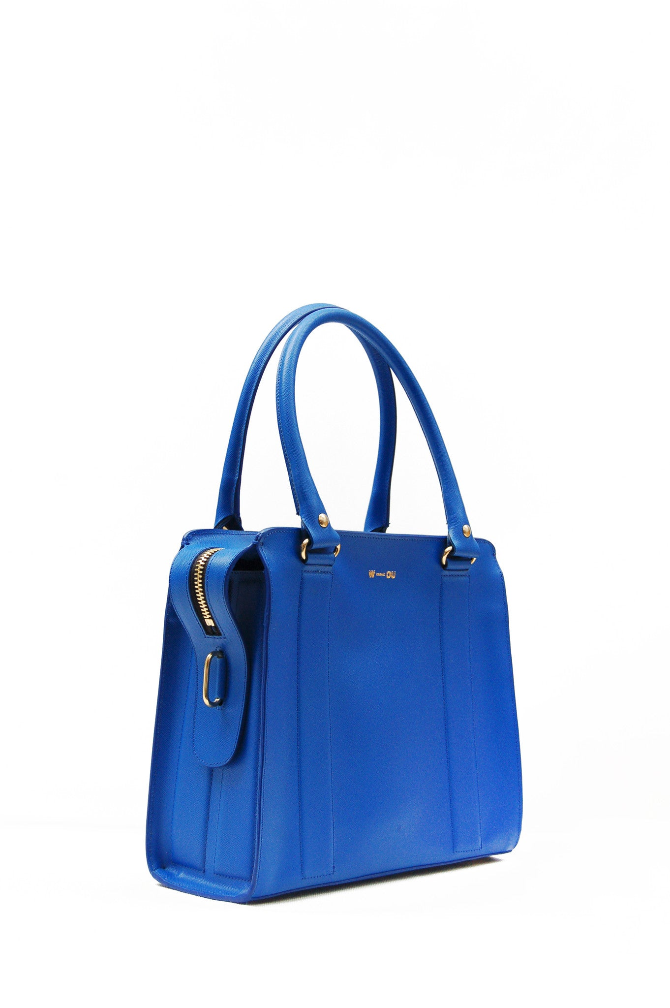 Wendee Ou: Middleton structured bag blue | Bags,Bags > Totes -  Hiphunters Shop