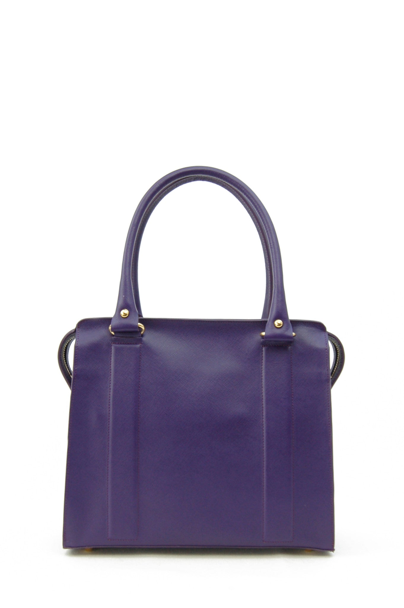 Middleton structured bag purple