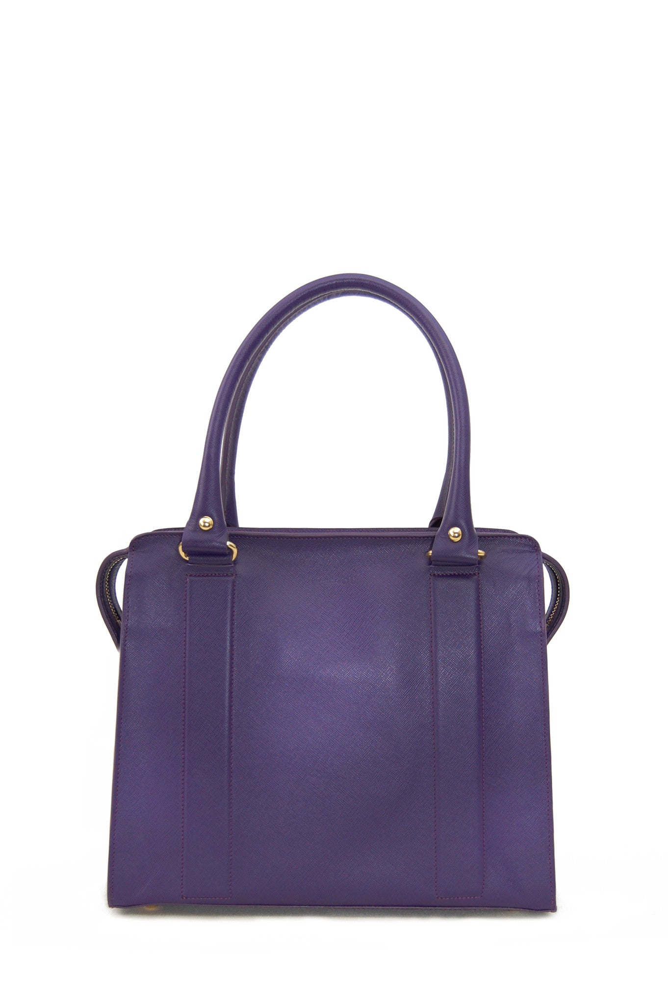Wendee Ou: Middleton structured bag purple | Bags > Handbags,Bags,Bags > Shoulder Bags -  Hiphunters Shop