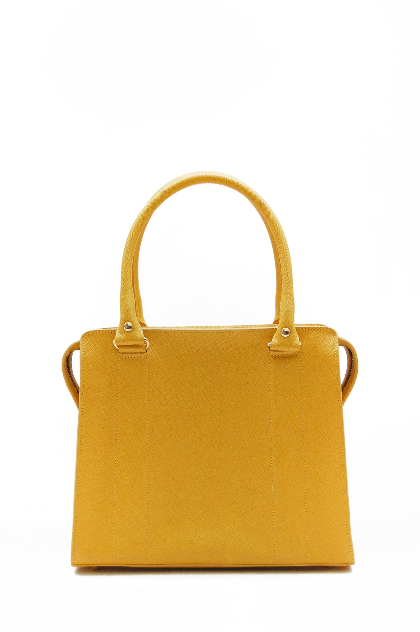Wendee Ou: Middleton structured bag yellow | Bags > Handbags,Bags,Bags > Shoulder Bags -  Hiphunters Shop